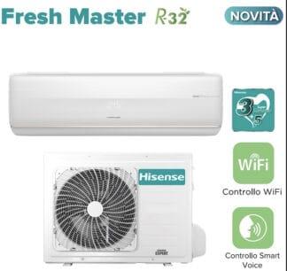 CLIMATIZZATORI HISENSE FRESH MASTER A+++A+++ R32 DC INVERTER LINEA 2021