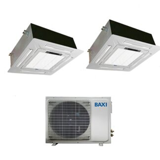 CLIMATIZZATORI DUAL CASSETTA BAXI R32 DC INVERTER